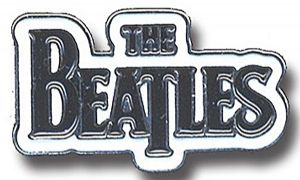 Beatles Drop T Logo metal / enamel pin badge    (ro)